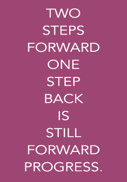"Responses to ""Two steps forward, one step back."""