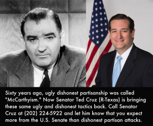 Ted Cruz brings back Republican tradition of McCarthyism
