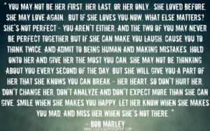 "Bob Marley — "" Love Quote "" 