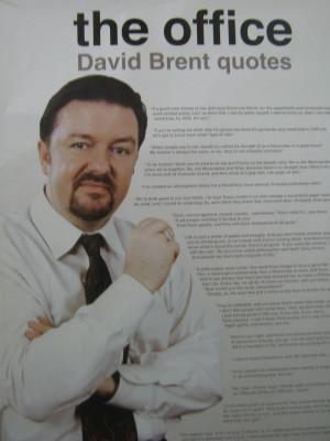 David Brent Quotes