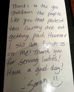 Waitress Picks Up The Tab For National Guard Soldiers Working Without ...