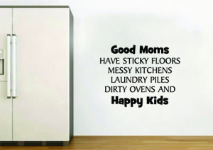 Good Kitchen Quotes Good Mums Kitchen Wall Quote