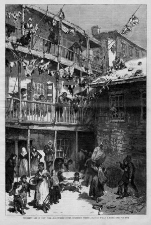 Tenement Life New York Rag...