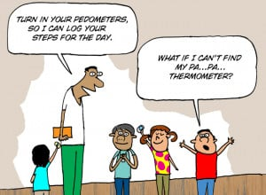 PE Central's Physical Education Cartoon of the Week