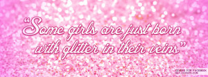 Glitter In Their Veins Facebook Covers
