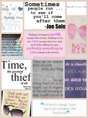 Gallagher Girl Quotes Gallagher girl quotes collage by winxlover01