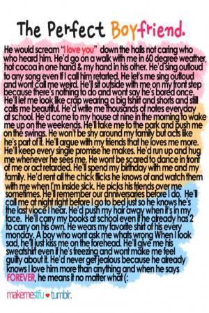 The Perfect Boyfriend The Boyfriend Boyfriend Quotes Perfect