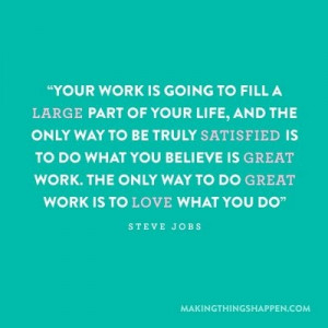 The Importance of Loving Your Job
