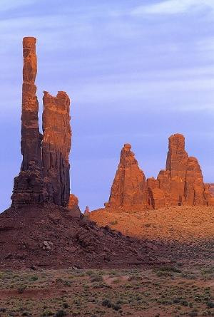 Totem Pole -- Monument Valley, Utah www.liberatingdivineconsciousness ...