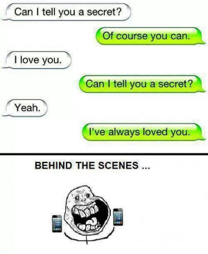 Forever alone / funny