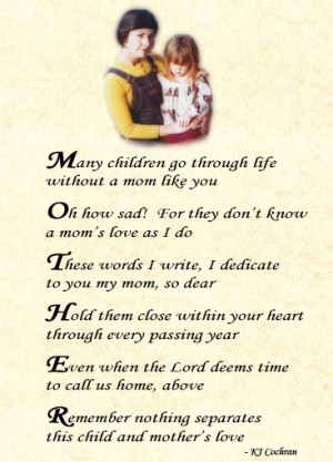Funny Mothers Day Poems (26)