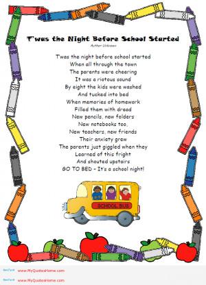 Funny Teacher Poems For Teachers - funny teacher poems for ...