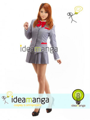 ... Uniform skirt women's Cosplay Costume cos Female halloween Christmas