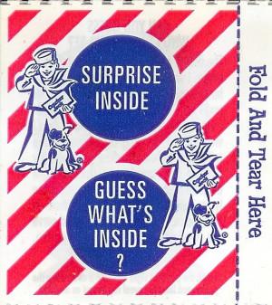 ... it looks like a pinkish, purple prize found in a Cracker Jack box
