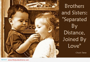 Quotes About Brothers And...