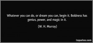 More W. H. Murray Quotes