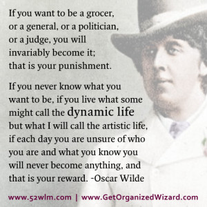 If you want to be a grocer, or a general, or a politician, or a judge ...