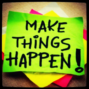 SnapWidget | #make #things #happen #cute #quotes #colorful #green # ...