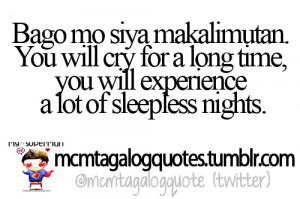 Fall In Love Tagalog Quotes