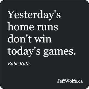 Babe Ruth – Inspirational Quote