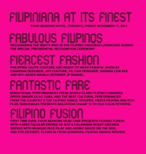 ... filipino pride even further by hosting the most glamorous filipino