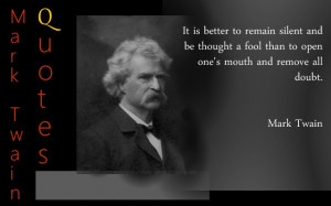 Quotes of Samuel Langhorne Clemens, better known by his pen name Mark ...