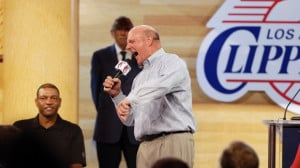 New Los Angeles Clippers owner Steve Ballmer, joined by head coach Doc ...