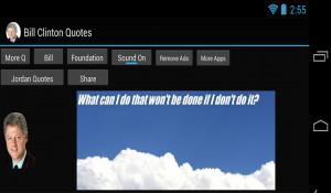Bill Clinton Quotes - screenshot