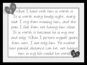 Sad Poem: What I have With Him…