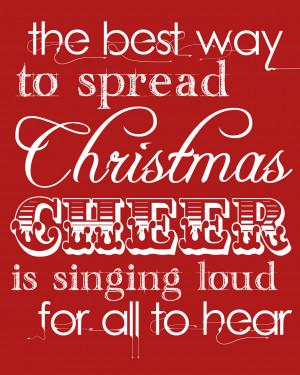 Christmas | Free printable!