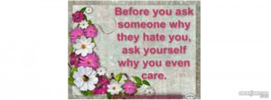 Why Do You Care Quote