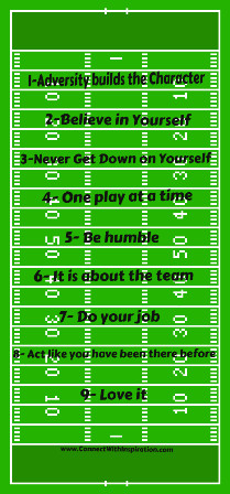 NFL Inspirations