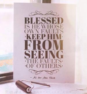 Imam Ali bin Abi Talib quotes