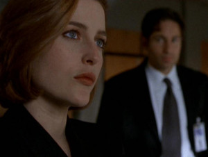 Scully asks Assistant Director Skinner to keep her situation ...