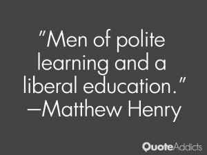 Men of polite learning and a liberal education Wallpaper 1