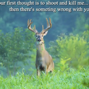 Anti hunting...most women today refuse to date a man that hunts