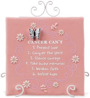 download this Cancer Survivor Butterfly Shaped Inspirational Plaque ...