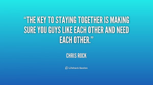 Staying Together Quotes Ncc