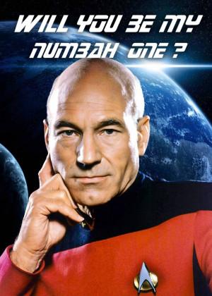 Captain Jean-Luc Picard. Best. Valentine. Card. EVER.