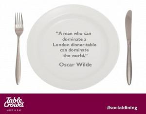 Dining with Oscar Wilde