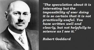 Robert goddard quotes 2