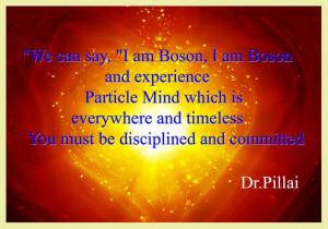 Boson Particle Mind Dr.Pillai #Quotes