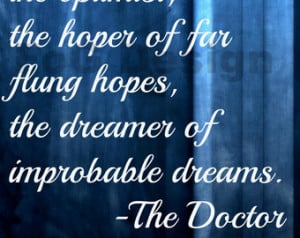 Doctor Who Digital Print - 11th Doctor Quote