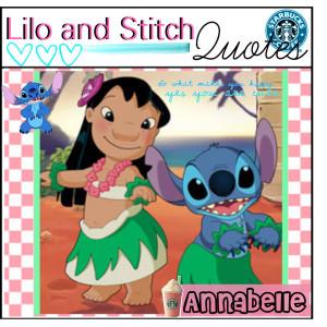 Lilo and Stitch quotes ////