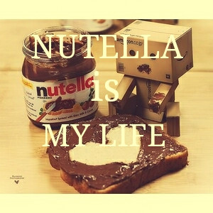 cute life love nutella quotes robot sweet text