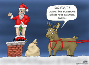 Funny santa helicopter pictures