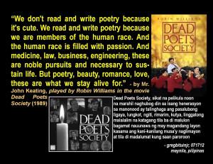 Dead Poets Society Quotes Dead poets society