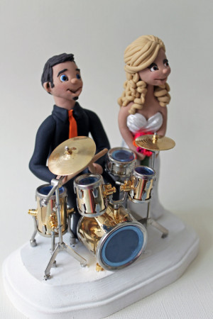 Step Brothers Quotes Drumset Topper - drum set cake