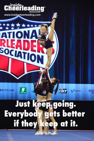 Good Luck Cheerleading Quotes, Cheer Quotes, Quotes About Cheerleading ...