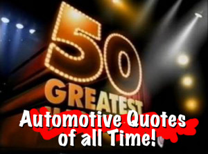 We all love famous quotes don't we? Little snippets of verbiage that ...